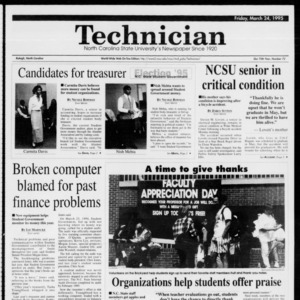 Technician, Vol. 75 No. 72, March 24, 1995