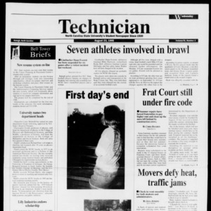 Technician, Vol. 76 No. 1, August 23, 1995