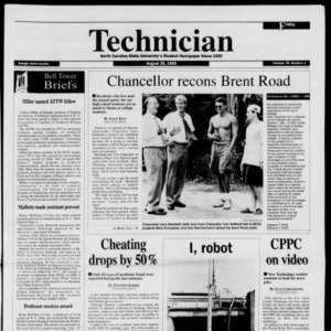 Technician, Vol. 76 No. 2, August 25, 1995