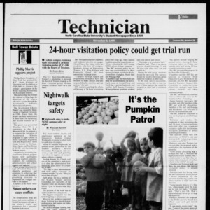 Technician, Vol. 76 No. 29, November 3, 1995
