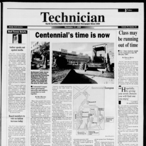 Technician, Vol. 76 No. 35, November 17, 1995