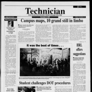 Technician, Vol. 76 No. 42, December 8, 1995