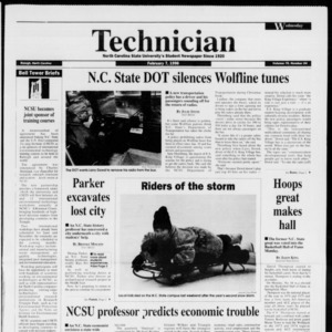 Technician, Vol. 76 No. 54, February 7, 1996