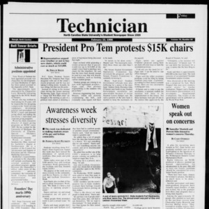 Technician, Vol. 76 No. 59, February 23, 1996