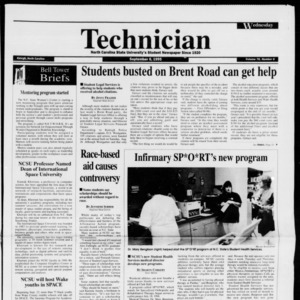 Technician, Vol. 76 No. 6, September 6, 1995