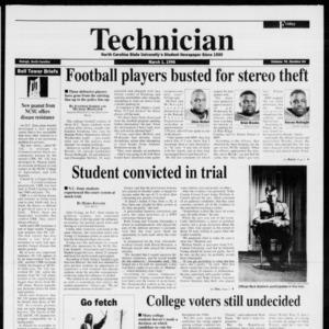 Technician, Vol. 76 No. 64, March 1, 1996