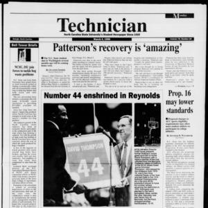 Technician, Vol. 76 No. 65, March 4, 1996