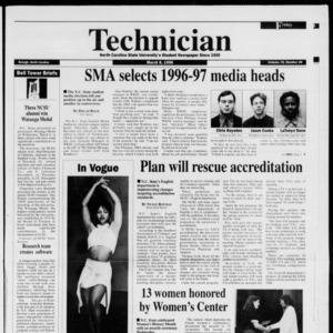 Technician, Vol. 76 No. 66, March 8, 1996