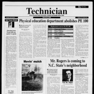 Technician, Vol. 76 No. 68, March 20, 1996