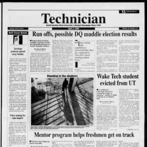 Technician, Vol. 76 No. 74, April 3, 1996
