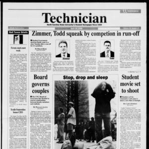 Technician, Vol. 76 No. 77, April 10, 1996