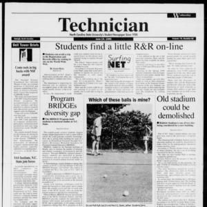 Technician, Vol. 76 No. 92, June 19, 1996