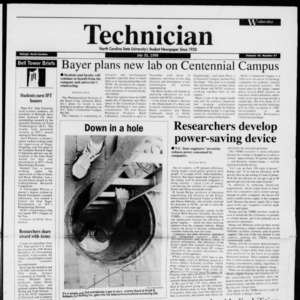 Technician, Vol. 76 No. 97, July 31, 1996