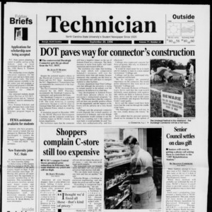 Technician, Vol. 77 No. 12, September 20, 1996