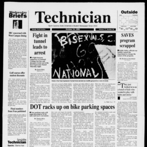 Technician, Vol. 77 No. 22, October 16, 1996