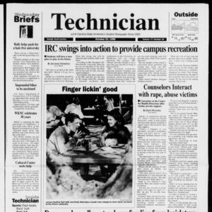 Technician, Vol. 77 No. 25, October 23, 1996