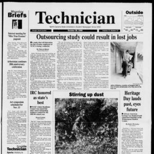 Technician, Vol. 77 No. 27, October 28, 1996