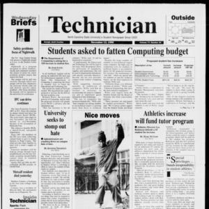 Technician, Vol. 77 No. 34, November 13, 1996