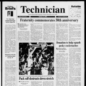 Technician, Vol. 77 No. 47, January 17, 1997
