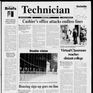 Technician, Vol. 77 No. 52, January 31, 1997