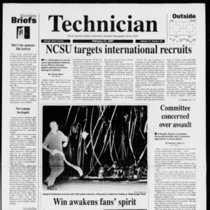 Technician, Vol. 77 No. 59, February 17, 1997