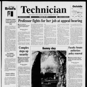 Technician, Vol. 77 No. 64, February 28, 1997
