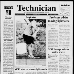 Technician, Vol. 77 No. 69, March 19, 1997