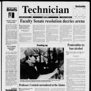 Technician, Vol. 77 No. 74, April 2, 1997