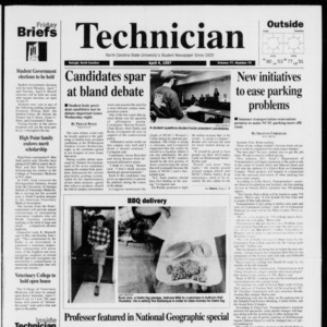 Technician, Vol. 77 No. 75, April 4, 1997