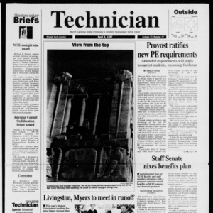 Technician, Vol. 77 No. 77, April 9, 1997