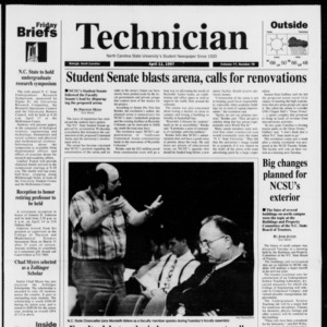 Technician, Vol. 77 No. 78, April 11, 1997