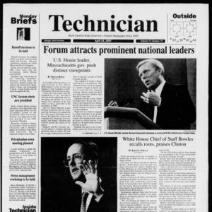 Technician, Vol. 77 No. 79, April 14, 1997