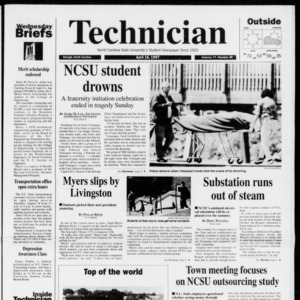 Technician, Vol. 77 No. 80, April 16, 1997