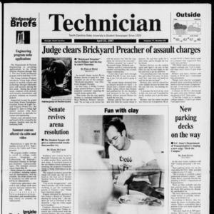 Technician, Vol. 77 No. 83, April 23, 1997