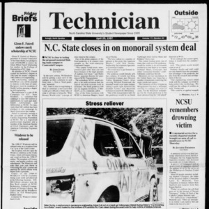 Technician, Vol. 77 No. 84, April 25, 1997