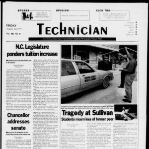 Technician, Vol. 78 No. 4, August 22, 1997