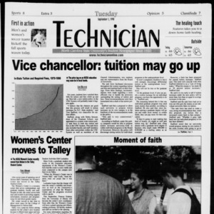 Technician, Vol. 79 No. 10, September 1, 1998