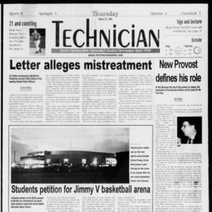 Technician, Vol. 79 No. 102, March 25, 1999