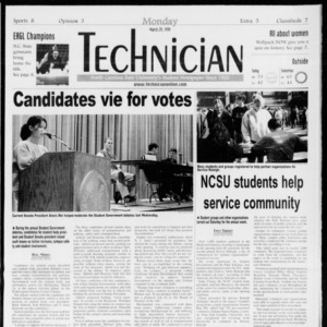Technician, Vol. 79 No. 103, March 29, 1999