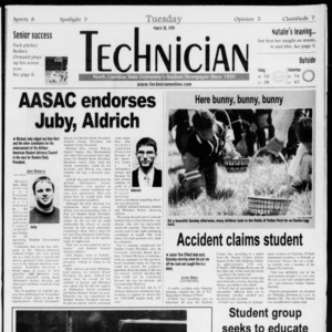 Technician, Vol. 79 No. 104, March 30, 1999