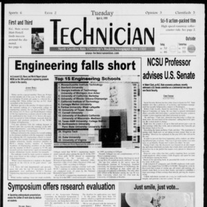Technician, Vol. 79 No. 106, April 6, 1999