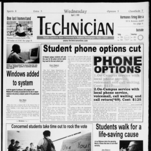 Technician, Vol. 79 No. 107, April 7, 1999