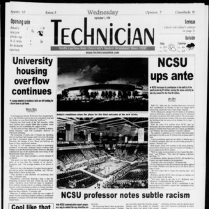 Technician, Vol. 79 No. 11, September 2, 1998