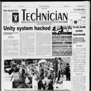 Technician, Vol. 79 No. 112, April 15, 1999