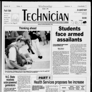Technician, Vol. 79 No. 30, October 7, 1998