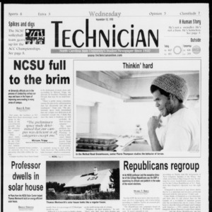 Technician, Vol. 79 No. 52, November 18, 1998