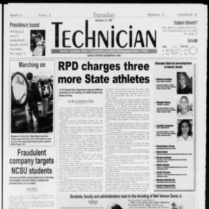 Technician, Vol. 79 No. 55, November 24, 1998