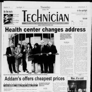 Technician, Vol. 79 No. 62, January 5, 1999