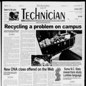 Technician, Vol. 79 No. 63, January 6, 1999