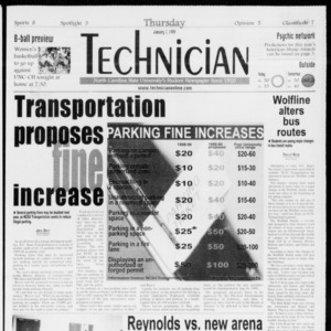 Technician, Vol. 79 No. 64, July 1, 1999
